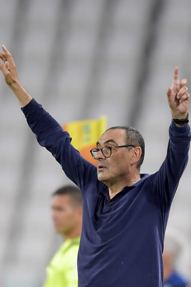 Juventus - Atalanta | The statements by Mister Sarri