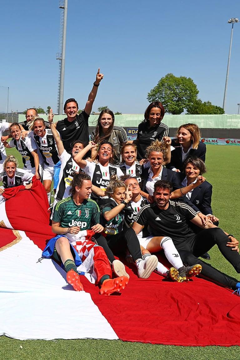 2019: On This Day il secondo Scudetto firmato Juventus Women!