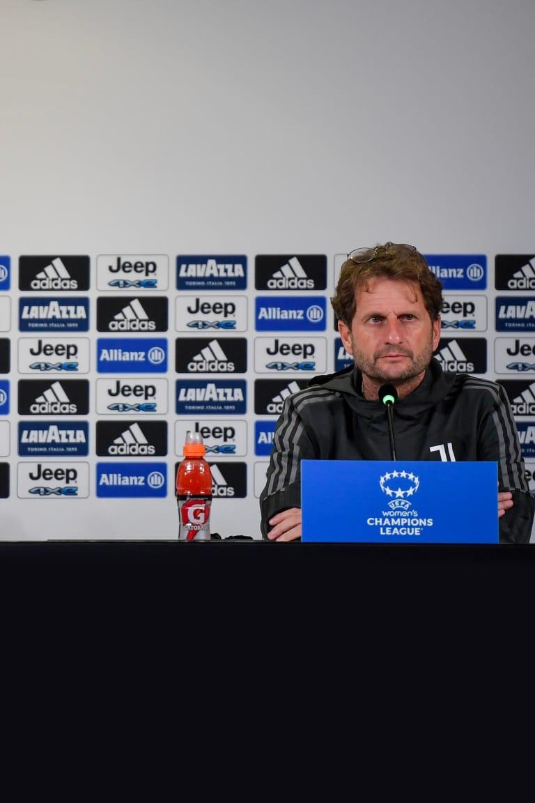 Gama e Montemurro: «Che emozione giocare all'Allianz Stadium!»