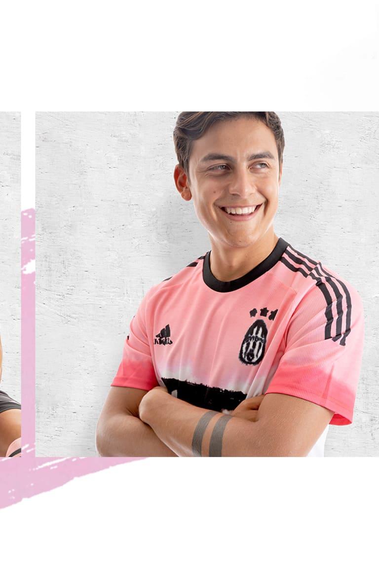 ¡El cuarto kit de la Juventus, desarrollado por adidas y Humanrace FC!