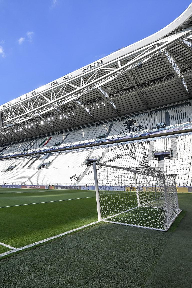 Juventus Women-Lyon at Allianz Stadium!