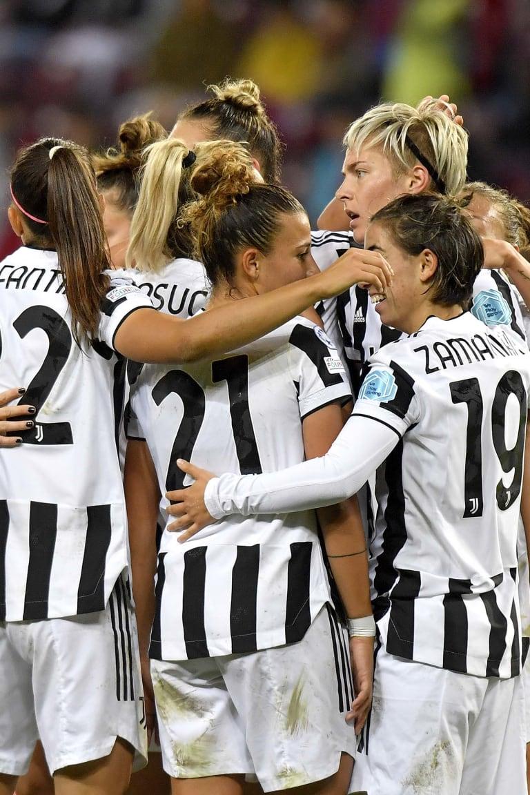 Juventus Women - Chelsea, matchday stats!