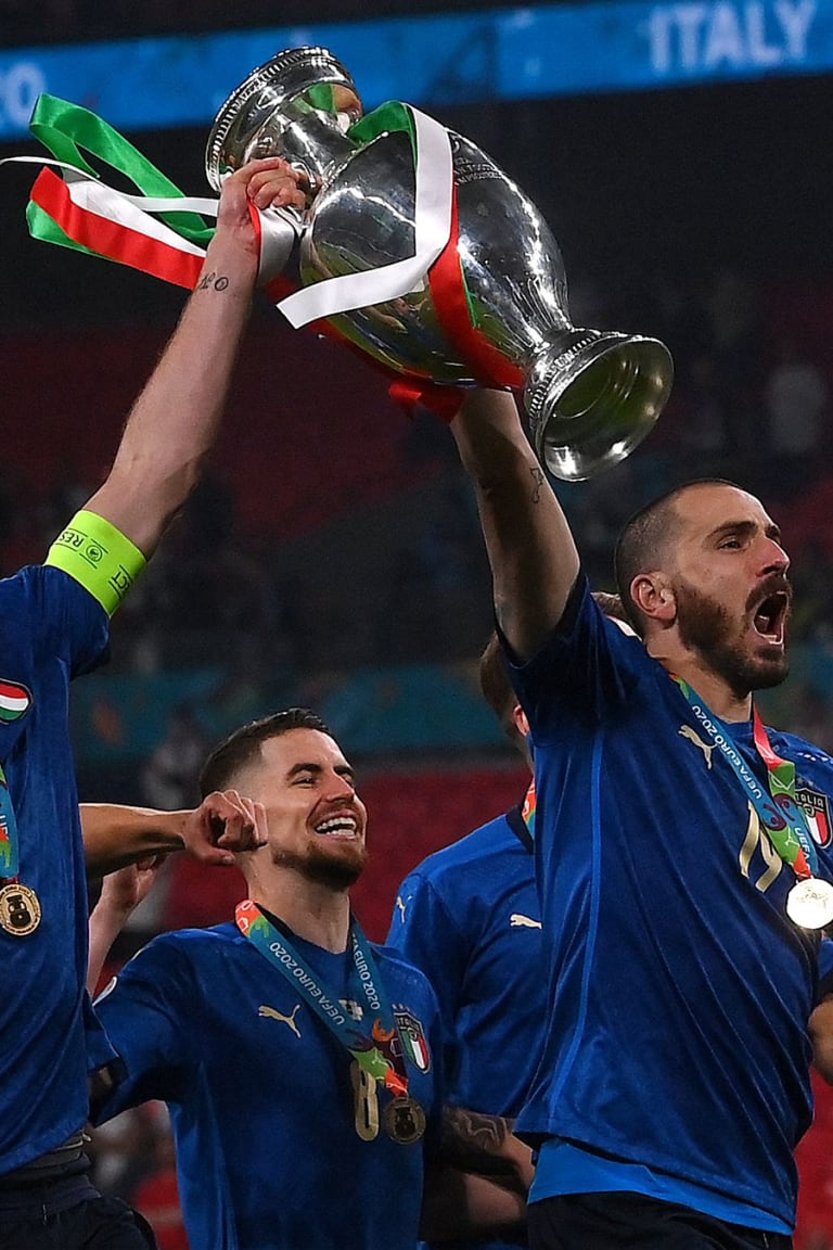 イタリア代表4選手が欧州チャンピオンに