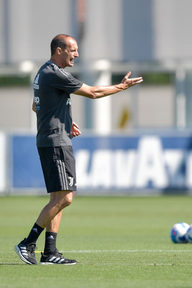 Bianconeri straight back to work ahead of UCL