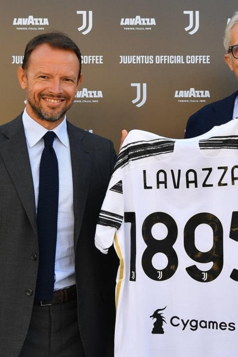 Lavazza é o café oficial da Juventus!