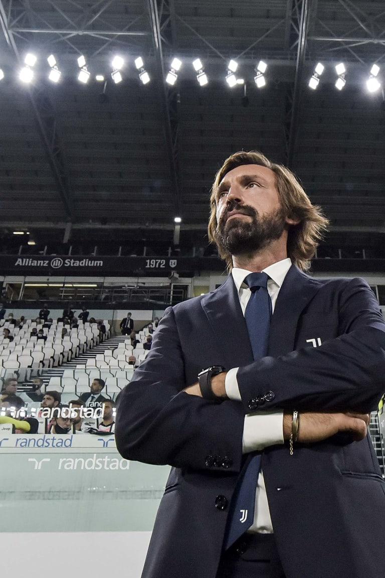 Juventus - Sampdoria | Pirlo: «An excellent match»