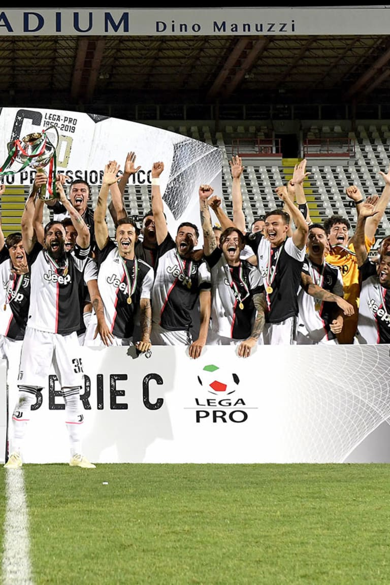 UNDER 23 STORICA: conquista LA COPPA ITALIA SERIE C!