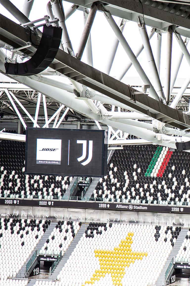 Juventus e Bose Professional juntos