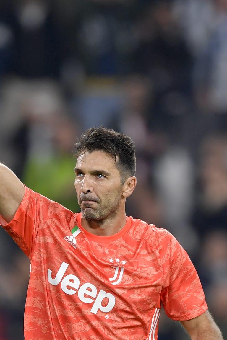 Buffon cetak rekor penampilan Serie A ke-648!