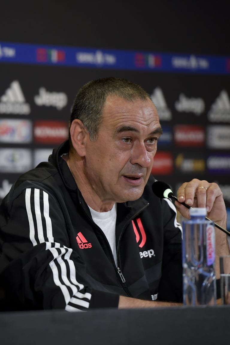 LIVE | Sarri's comments on the eve of Juventus - Atalanta