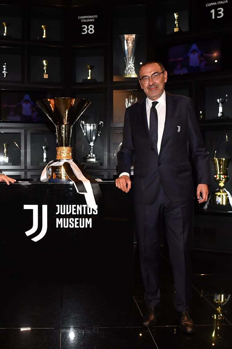 Two Scudetti at the Juventus Museum!