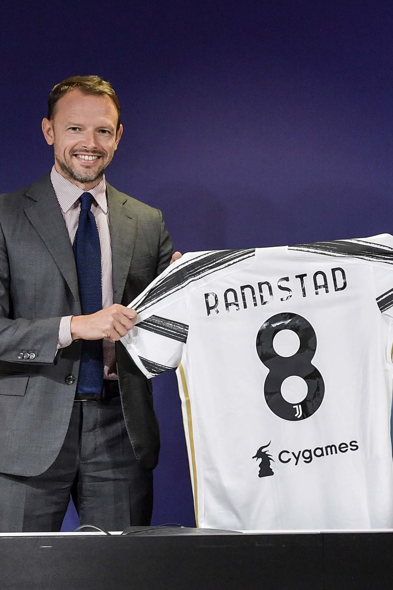 Randstad official partner of Juventus until 2022!