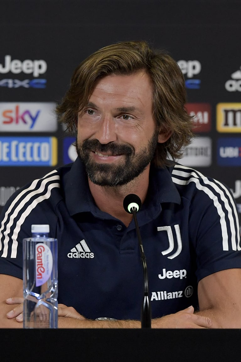Pirlo's comments on the eve of Roma - Juventus