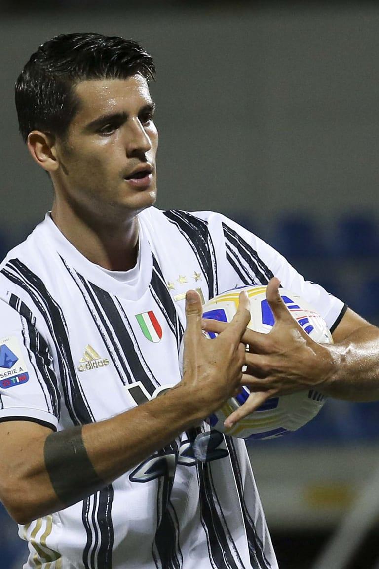 Review: il gol di Alvaro Morata contro il Crotone