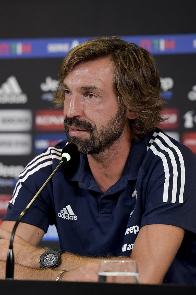 Le parole di Pirlo alla vigilia di Spezia - Juventus