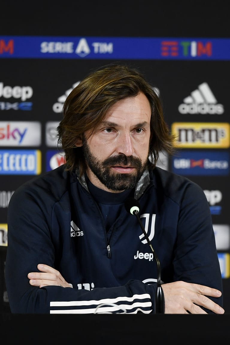 Pirlo's comments on the eve of Inter-Juventus