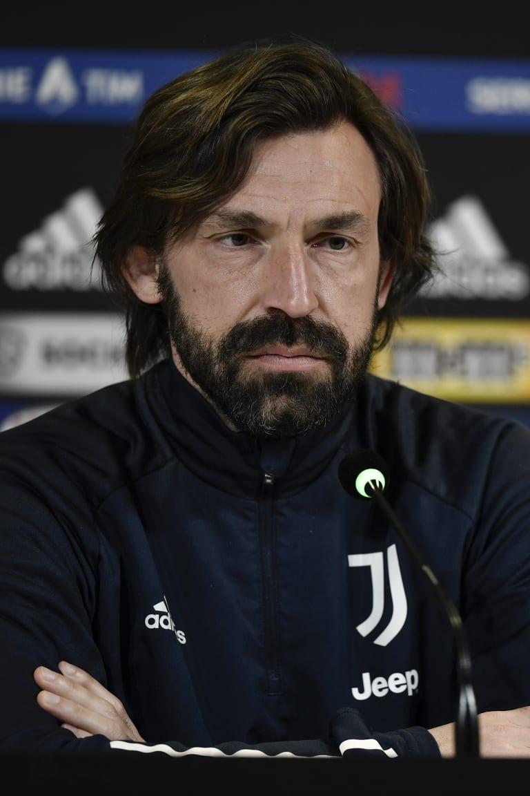 """Pirlo: """"Nós esperamos um jogo físico contra o Verona"""""""