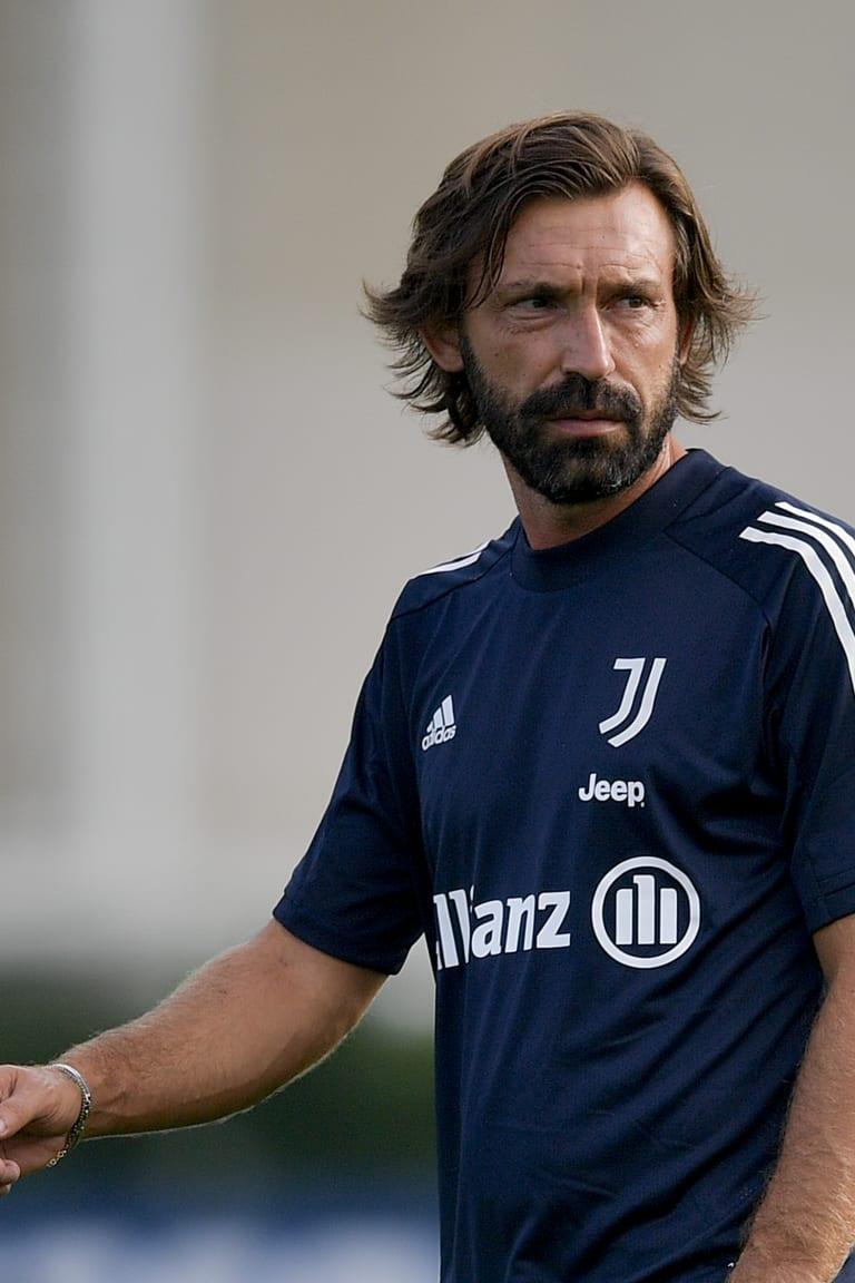 Training Center | Bianconeri di nuovo al lavoro