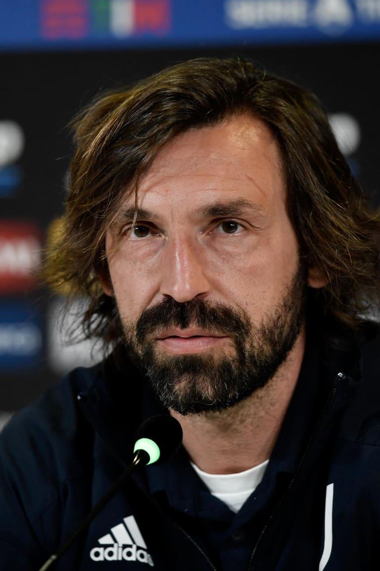 Mister Pirlo presenta Juve-Napoli