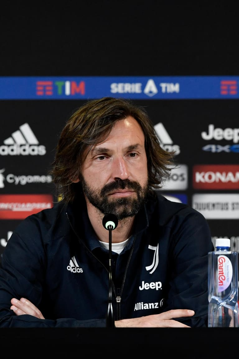 Pirlo's comments on the eve of Juventus - Genoa
