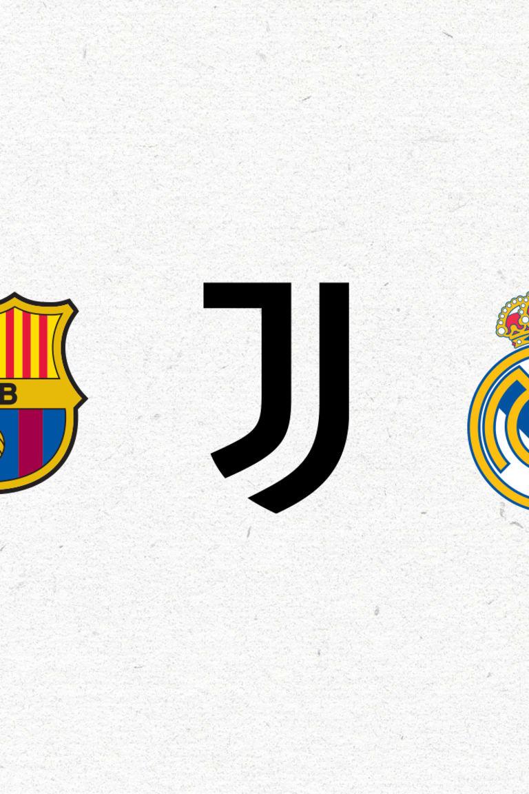 バルセロナ、ユーヴェ、レアルからの声明