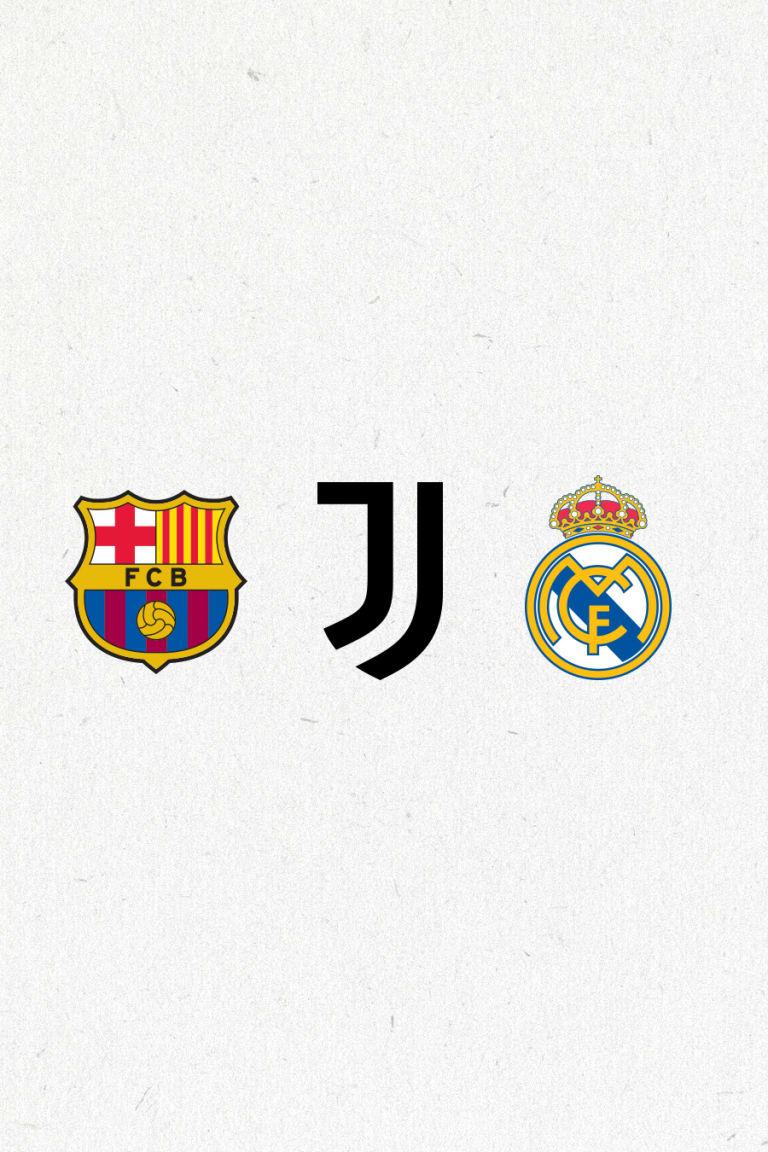 بيان من برشلونة ويوفنتوس وريال مدريد