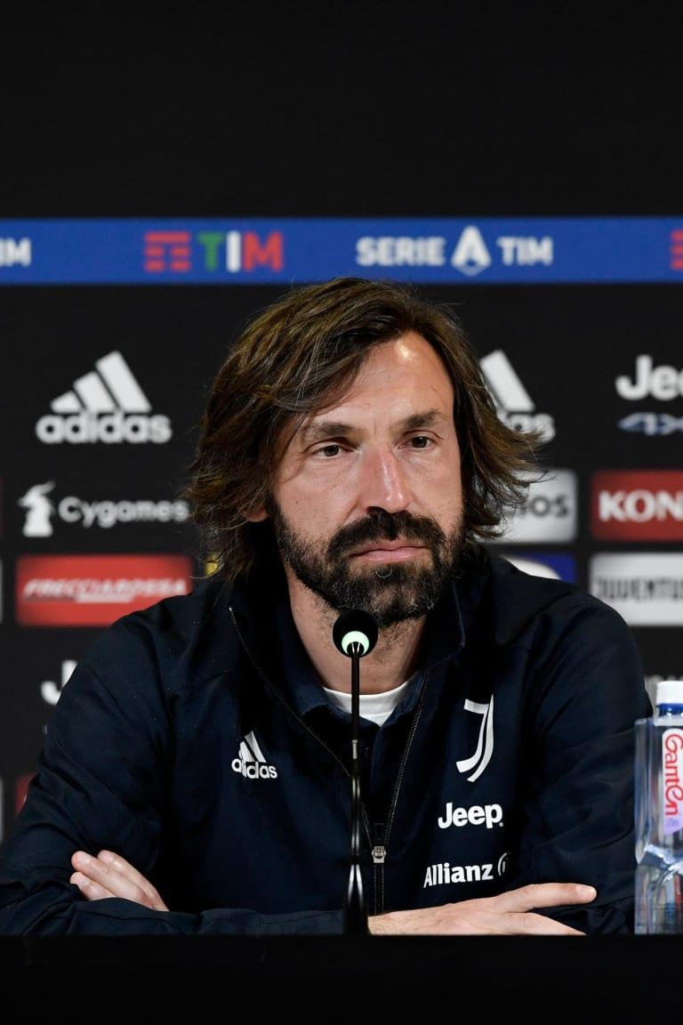Le parole di Pirlo alla vigilia di Juventus - Milan