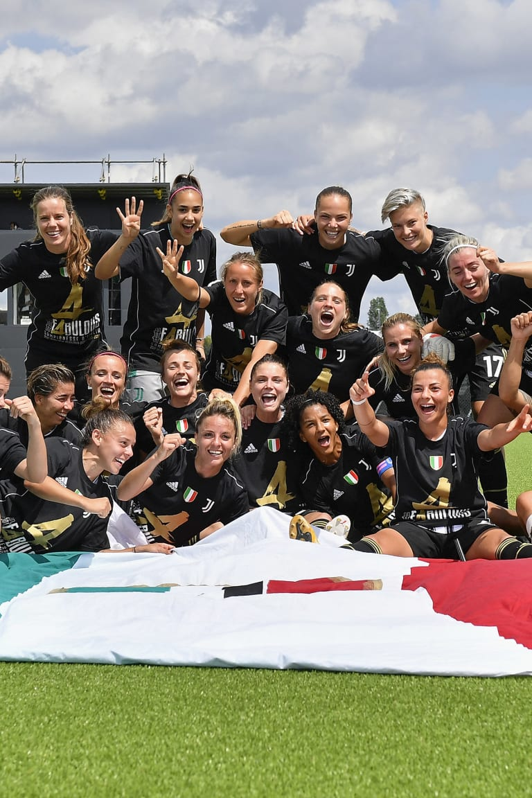 Wonder Women | The film of the fourth-consecutive Scudetto