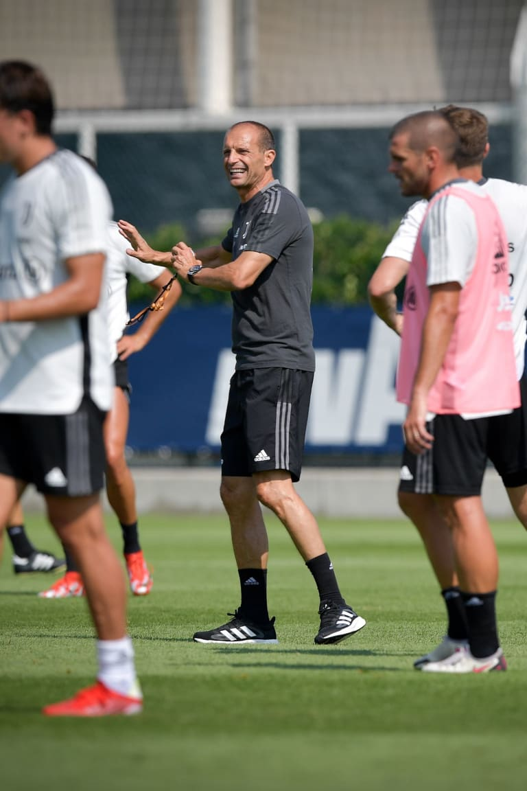 Training Center | Two days to go to Monza - Juve