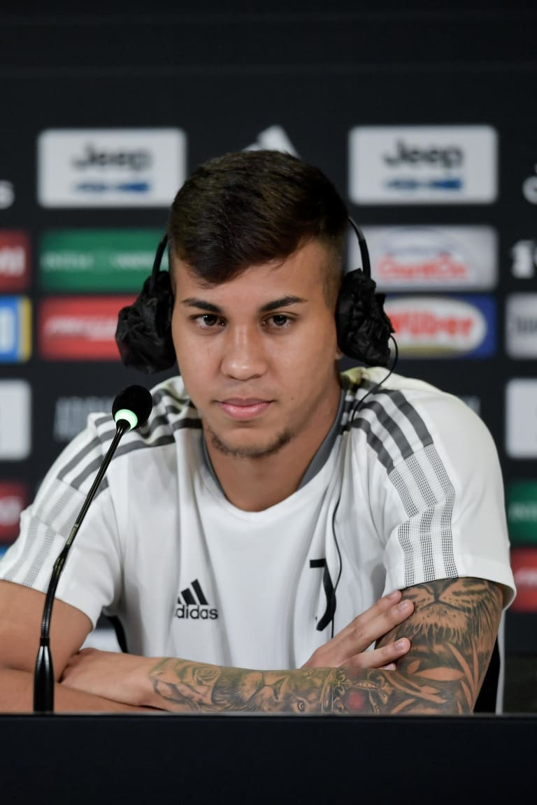 "Kaio Jorge: ""I'm happy, Juve is a dream"""