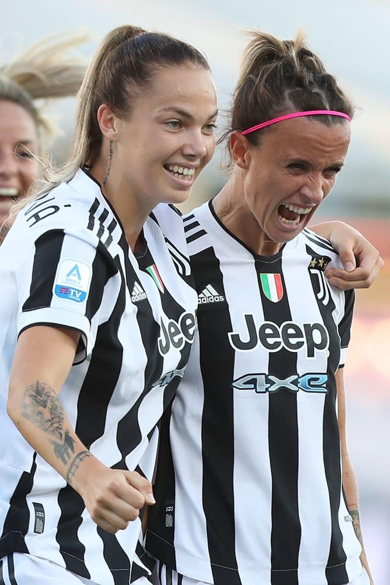 Bonansea at the double as Juve Women beat Fiorentina