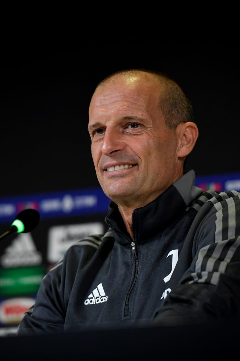 Coach Allegri previews Juventus - Sassuolo