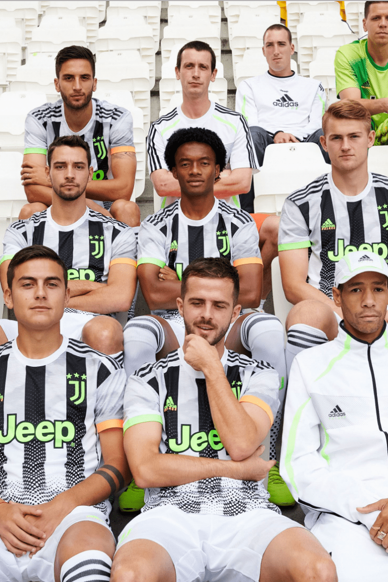 The fourth kit by Juventus, adidas & Palace on sale today!