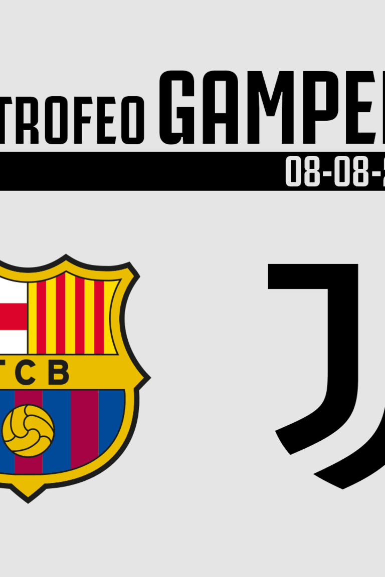 Juve and Barcelona to meet in double Gamper Trophy challenge!
