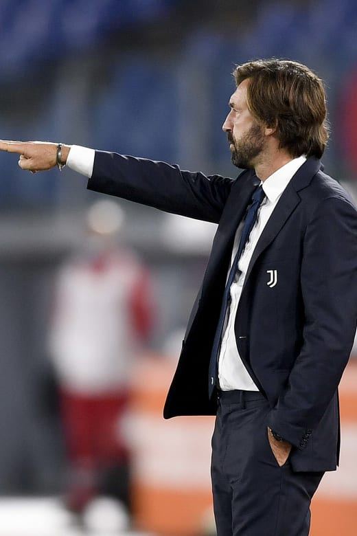 Roma Juventus Andrea Pirlo A Great Reaction In The Second Half Juventus Tv