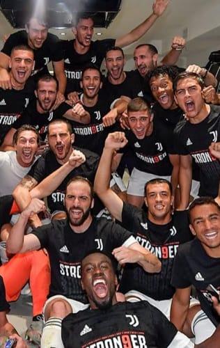 Juventus - Sampdoria | La festa negli spogliatoi!
