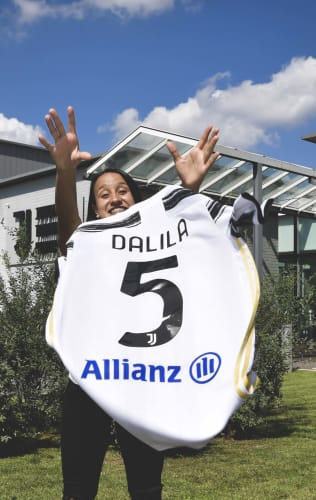 Dalila's first words in Bianconero