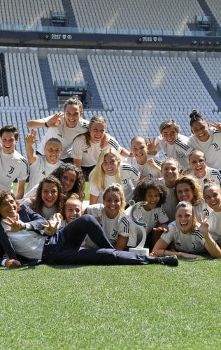 La Coppa del Campionato Femminile nelle mani delle Juventus Women!
