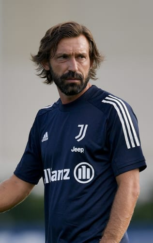 On the pitch with Coach Pirlo