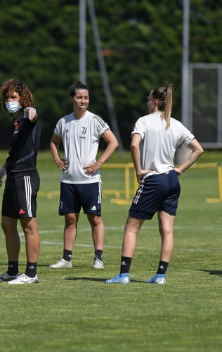 Training | Juventus Women continue their work