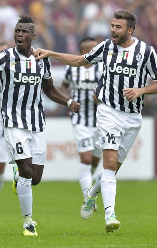 Torino - Juventus | Paul Pogba's tap-in gives the victory in 2013 Derby