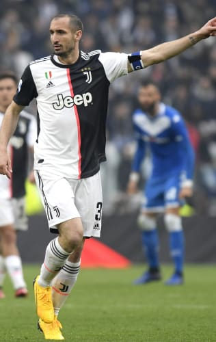 Captain Chiellini, the impenetrable wall