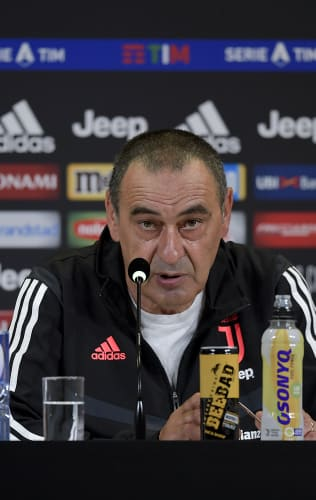 Sarri's comments on the eve of Genoa - Juventus
