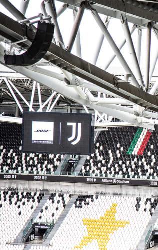 Juventus and Bose Professional bermitra
