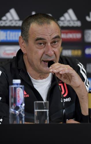 Le parole di Sarri alla vigilia di Milan - Juventus