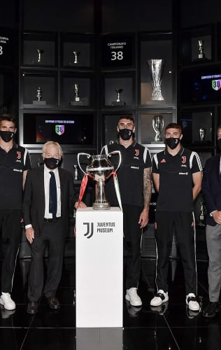 The Serie C Coppa Italia at Juventus Museum!