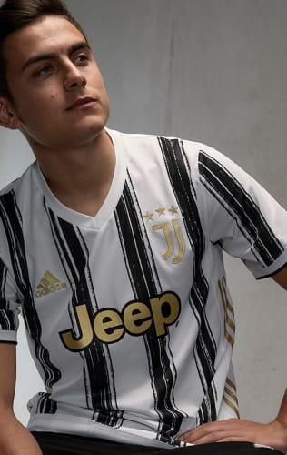 La nuova maglia home della Juventus 20/21 targata adidas!