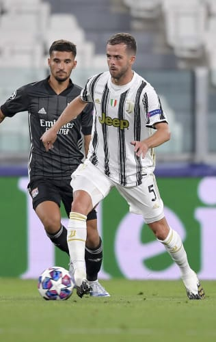 Juventus - Lyon | The emotion of Miralem