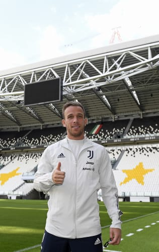 Welcome Arthur! Our New Signing Tours The Allianz And Speaks To Journalists
