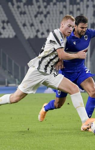 Juventus - Sampdoria | Kulusevski: «A fantastic evening»